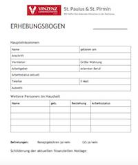 Erhebungsbogen