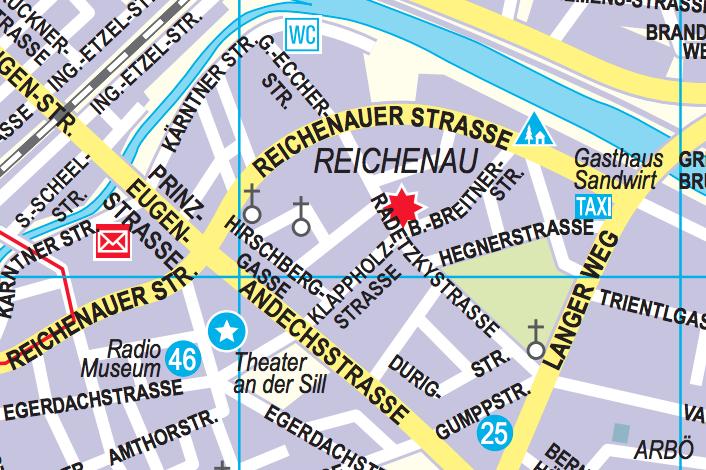 Stadtteil Reichenau in Innsbruck